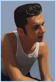Dave Gahan of Depeche Mode-upd by kilkennycat