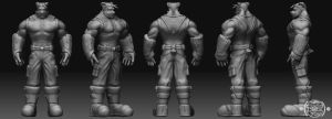 Zbrush Project - Blitz by chemb0t