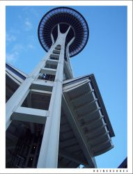 Space Needle by ruinedshoes