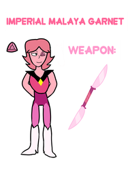 Imperial Malaya Garnet by Plumcicle