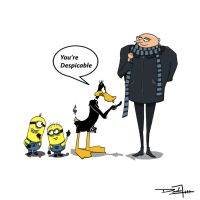 You're Despicable by Thr3spawn