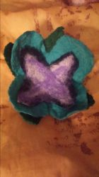 Felted flower  by Lokifan18
