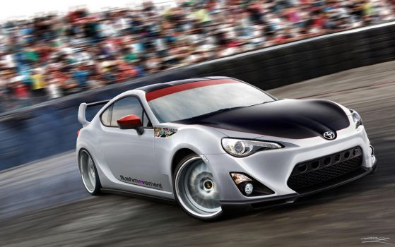 Toyota GT 86 by MurilloDesign