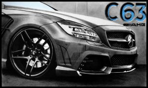 Mercedes CLS63 AMG [Graphite][A4] by TarcDnB
