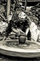 Nepalese Pottery by prithu