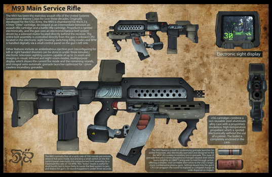 M93 Main Service Rifle by Great-5