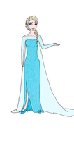 Queen Elsa by Redspets