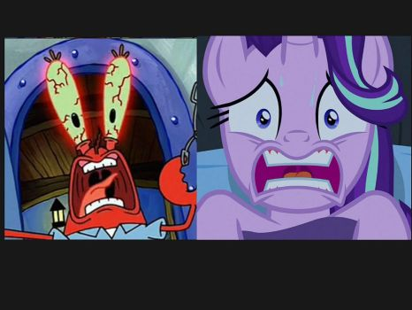 Mr.krabs and Starlight Scared Straight by Rookie109