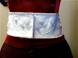 Beaded Wedding Belt:3 by phantomonex