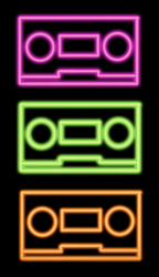 Fluro Tapes by RAWr-its-ASH