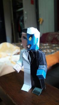 Two Face Paper Hero by asirbachan