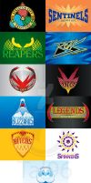 Unova Region Sports Team logos