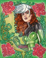 Women of Marvel - ROGUE by JASONS21
