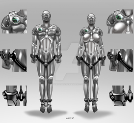 MSS-99M And MSS-99F Mobile Stasis Suit by DMF0 by SigurdsGuide