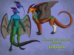 Hummingbird dragons for sale [CLOSED] by little-owlette