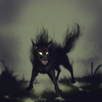 Wicked Dog-He Who Hath No Master by AuldBlue