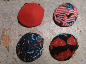 Patriotic and summer eye patches done