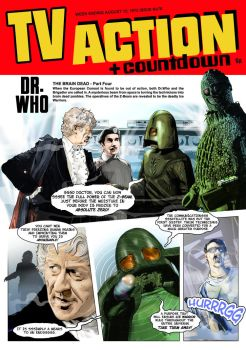 Dr Who The Brain Dead by westleyjsmith