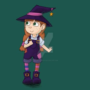 Ickle Witch by scribblingninja