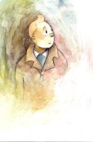 Tintin sketch by The-girl-in-Mirkwood