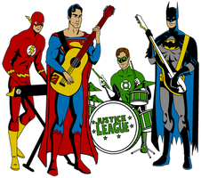 Justice League Band by Mbecks14