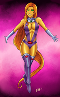 Starfire by XenonVincentLegend