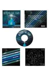 Beyond The Stars CD Case by RadioactiveFlowers