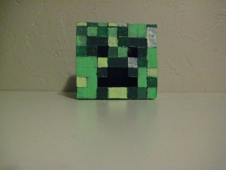 Creeper Head Face by JesusChristInDaHouse