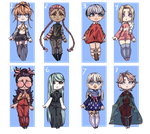 (Closed)  Cheap? Adopts (OTA or set price) by MauiCatgirl