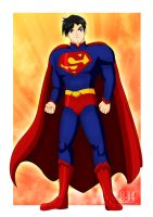 Superman new outfit by jotakaanimation