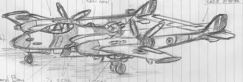 Retro Plane ( Rough WIP) by chaos-sandwhich