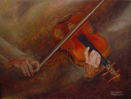The Violin by rmsmoky