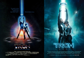 Tron 1982 to 2010 .1 by fuckiller