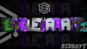 Banner Minecraft by ScubiiYT