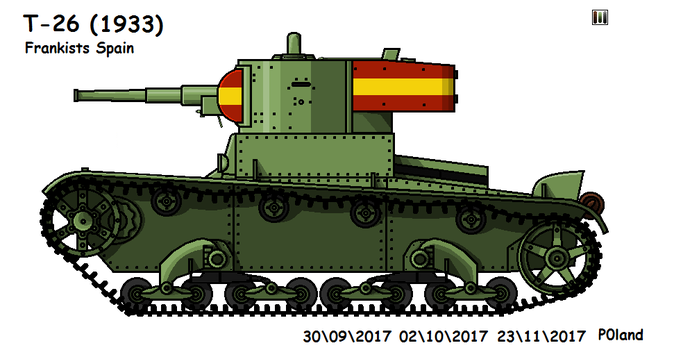 T-26 (1933) by P0landWW2
