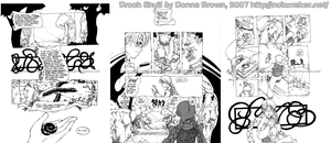 Droch Shuil Sample Pages 1-3 by karniz