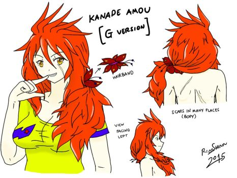 Symphogear What-if : Kanade Amou Lives (G Version) by riockman
