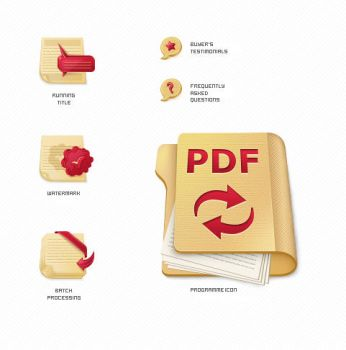Icons for PDF Converter by AnnaLitvinuk