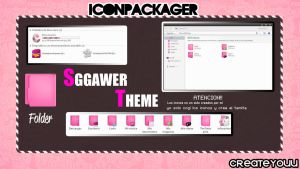 Sggawer Theme Iconpackager by CreateYouu