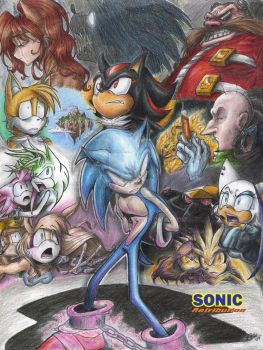 Sonic Retribution Cover
