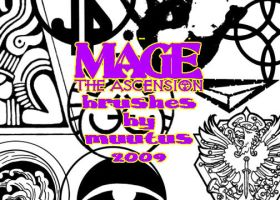Mage the Ascension Brushes by muutus