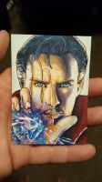 Doctor Strange - Copic Markers by sugarpoultry