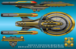 U.S.S. Defiance - Novus Initium Republic Version by technokoopa