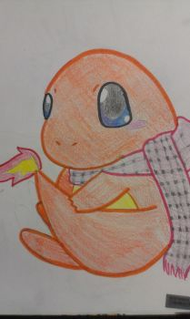 Just a charmander by Cantralovelorn