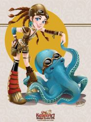 Steampunk Octo Dance by KelleeArt