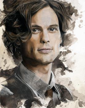 Spencer Reid by Fayeren