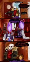 Underfell: Confronting Grillby by Omegium