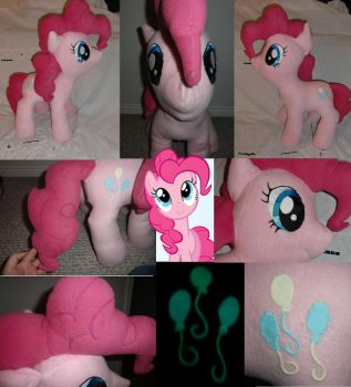 Pinkie Pie Plushie by Meowplease