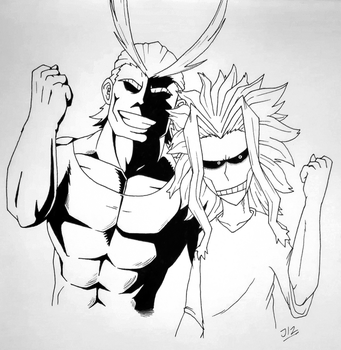 ''ALL MIGHT'' by TheJege12