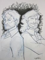 Bmore 2011: Remus and Sirius by stratosmacca